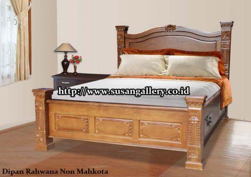 Tempat tidur Jati Rahwana