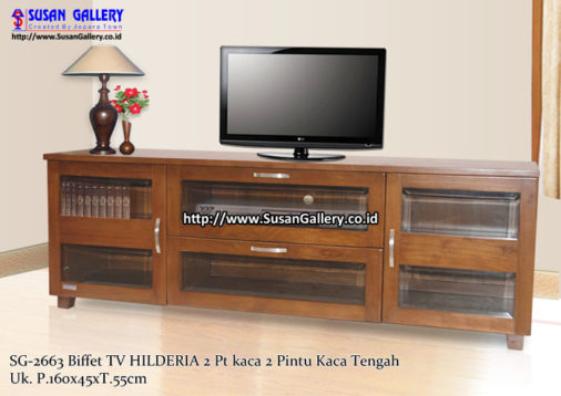 Buffet TV Jati Hilderia